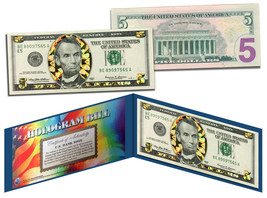 $5 GOLD HOLOGRAM Diamond Crackle Edition Collectible Legal Tender US $5 ... - $19.95