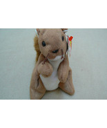 Ty Original Nuts The Squirrel Beanie Baby HandTag 1996/TushTag1996 PVC E... - $296.99
