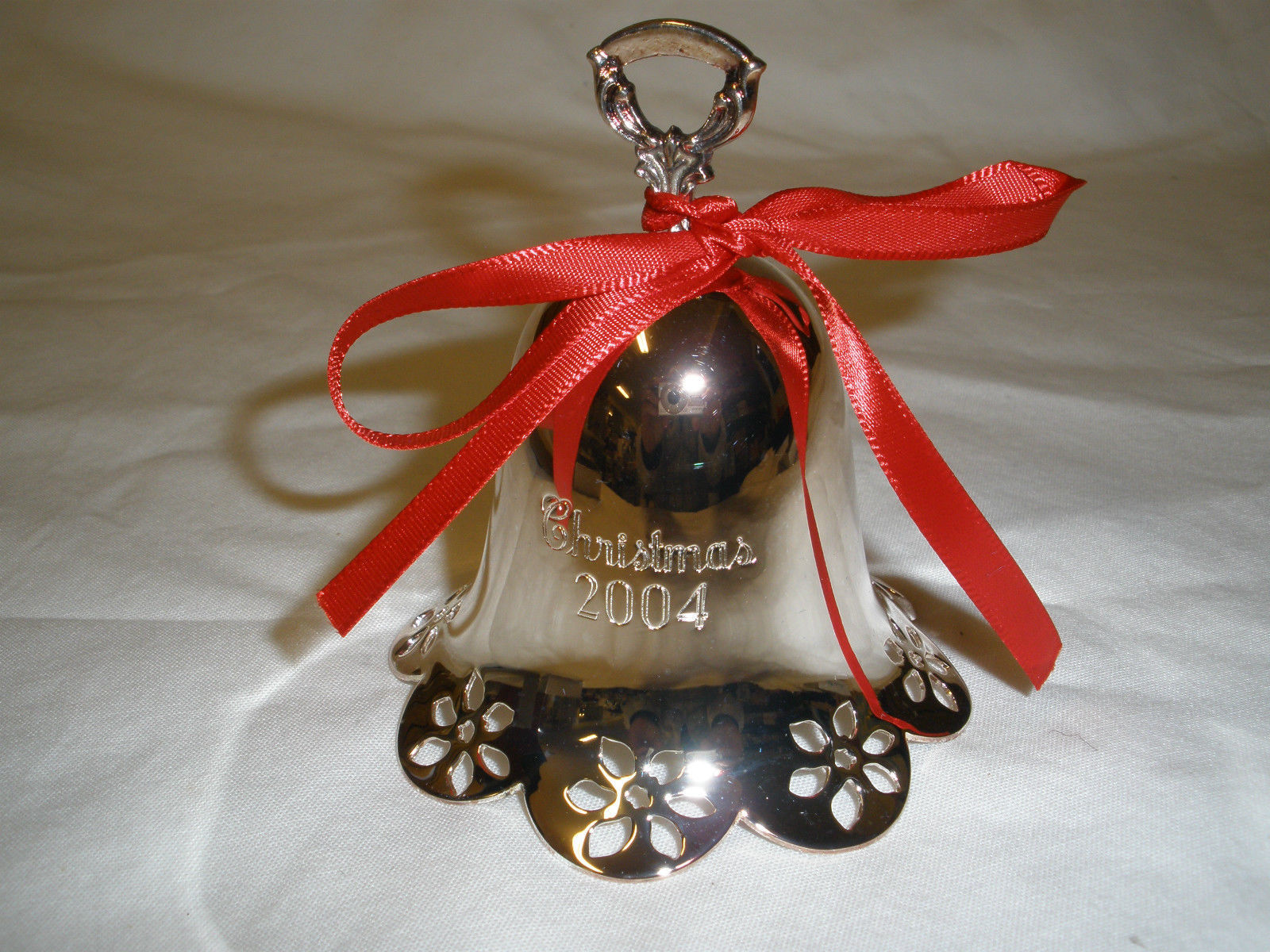 Towle Silver 2004 Christmas Bell 25th Anniversary Limited Edition  Bell Annual