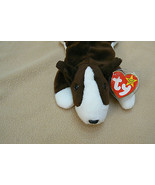 Ty Original Bruno The Dog Beanie Baby HandTag 1997/TushTag1997 PVC Errors - $197.99