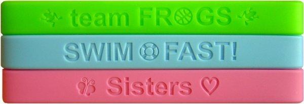 600 silicone reminderbands bracelets spiritband bands