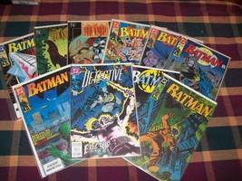 10 DC Comics  Batman Dark Knight ,Detective ,Idiot Root & Flyer - $23.38