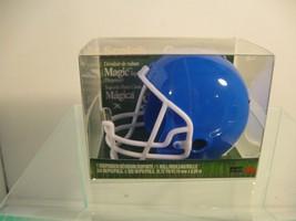 BLUE Football Helmet * 3M Scotch Magic Tape Dis... - $12.19
