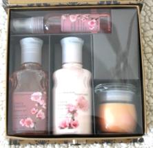 Original Cherry Blossom 4 Piece Gift Set By Bath & Body Works ~ Very Rare - $45.00