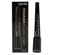 NYX Collection Noir Powder Black Liner eyeliner BEL 07 BLACK - $5.19