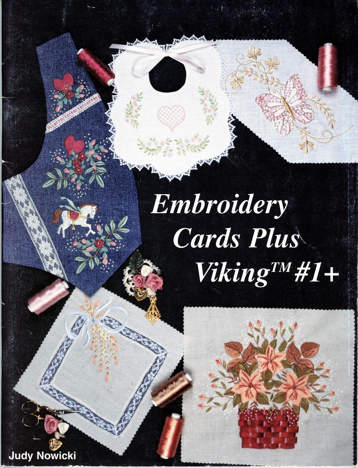 Embroidery Cards Plus Viking 1 By Judy Nowicki Husqvarna