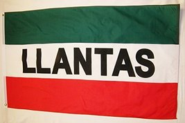Llantas Business Flag 3' X 5' Indoor Outdoor Tires Sales Banner - $10.95