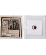 Widow's Mite Ancient Coin Certified Authentic Low Grade KB Coins - €16,53 EUR