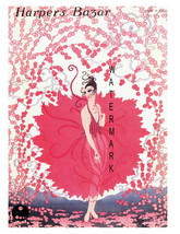 Harpers Bazar Vintage 1912 Magazine 13 x 10 inch Advertising Giclee CANV... - $19.95