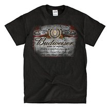 Budweiser Vintage Black T-shirt - Ready to Ship! - High-Quality! (s) - $19.81