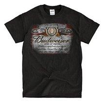 Budweiser Vintage Black T-shirt - Ready to Ship! - High-Quality! (4xl) - $24.81