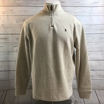 Polo Ralph Lauren Rib Half Zip Pull Over Sweater Brown Pony NWT Mens Size M - $57.15