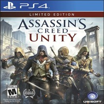 Assassin's Creed: Unity Limited Edition (PlayStation 4, 2014) Brand NEW! - $14.42