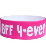 """80 ONE INCH 1"""" COLOR TEXT CUSTOM SILICONE WRISTBANDS BIG FAT BANDS SHIPP... - $143.20"""
