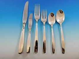 Starfire by Lunt Sterling Silver Flatware Set for 12 Service 78 Pieces - $4,695.00