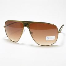 KHAN Designer's Fashion Sunglasses Flat Top Navigator Mens Spring Hinge ... - $11.90