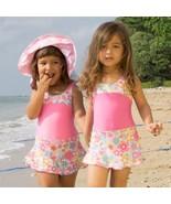 Girls Swimwear Junior Skirted Bathing Suit One ... - $27.00