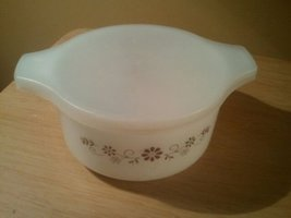 Vintage Dynaware PYR-O-REY Brown Daisy Dish Collectible - €9,58 EUR