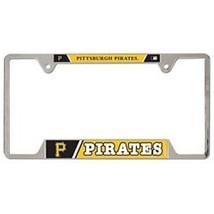 MLB Pittsburgh Pirates Heavy Duty Chrome Metal ... - $15.95