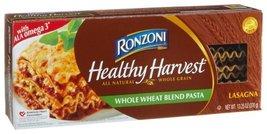 Ronzoni Healthy Harvest Whole Wheat Blend Pasta, Lasagna, 13.25-Ounce Bo... - $45.24