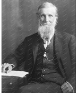 John Muir Author 1902 Portrait  Vintage 8x10 Reprint Of Old Photo - $20.20