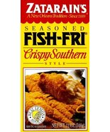 Zatarain's Seasoned FISH-FRI Crispy Southern Style 12 Oz (Pack of 3) - $20.52