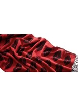 Victoria's Secret Flirt Blanket Throw Lips Kisses Red Limited Edition 50x60 - £16.87 GBP