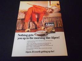 ALPEN cereal magazine ads * recent & vintage - $7.84