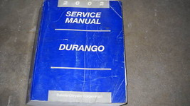 2002 Dodge Durango Service Repair Shop Workshop Manual Oem Factory Mopar - $24.70