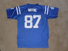 Reggie Wayne Indianapolis Colts Jersey Reebok Youth Large 14-16 Blue - €6,99 EUR