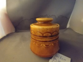 Homer Laughlin Del Rio Lidded Sugar Bowl Dish - $9.00