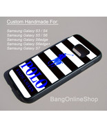 Striped Polo Ralph Lauren Blue Cover Samsung Galaxy S7 S7edge S6 S5 S4 S3 Case - $14.99