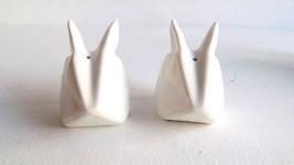 White Rabbits/Bunny Salt & Pepper Shaker Set - $5.99