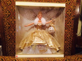 2000 Holiday Celebration Millenium BARBIE, 1st Series Gold Ed. (MIB; NRFB) - $199.99