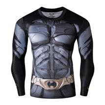 Batman Marvel Comics Sport Dry fit fitness gym T shirt for Men  - £18.53 GBP