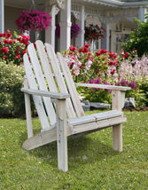 Catalina Cedar Adirondack Chair Shine Company Patio Deck Natural - $144.95