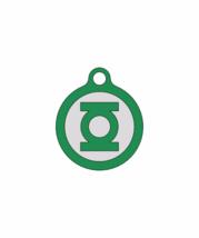 Green Lantern/Quiet Noiseless Silent cat dog tag Plastic pet tags Custom... - $11.99+