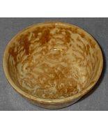 Yellow Spongeware Spatterware 5 inch Cereal Bowl - $16.00