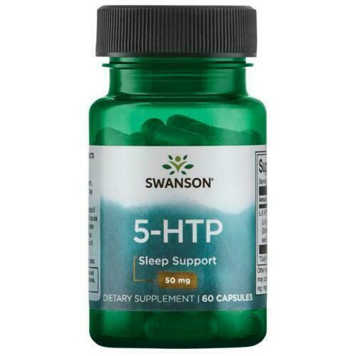 Swanson 5 HTP Capsules  Serotonin Sleep Support 50mg  60 caps - $12.91