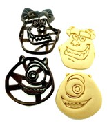 "2"" Monster's Inc. - Mike & Sulley Cookie Cutter Set of 2 - $7.20"
