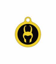 Loki/Quiet Noiseless Silent cat dog tag Plastic pet tags Custom ID pet tag - $11.99+