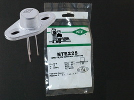 NTE225 Transistor NPN-Si Hv Switch And Linear Amp TO39 With Flange SK3045 - $7.76
