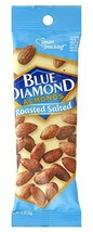 Blue Diamond Almonds Roasted Salted (Pack of 48) - $91.09