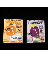 Funny Face Drink Pack 1970 Premium Jolly Olly Orange Goofy Grape - $36.99