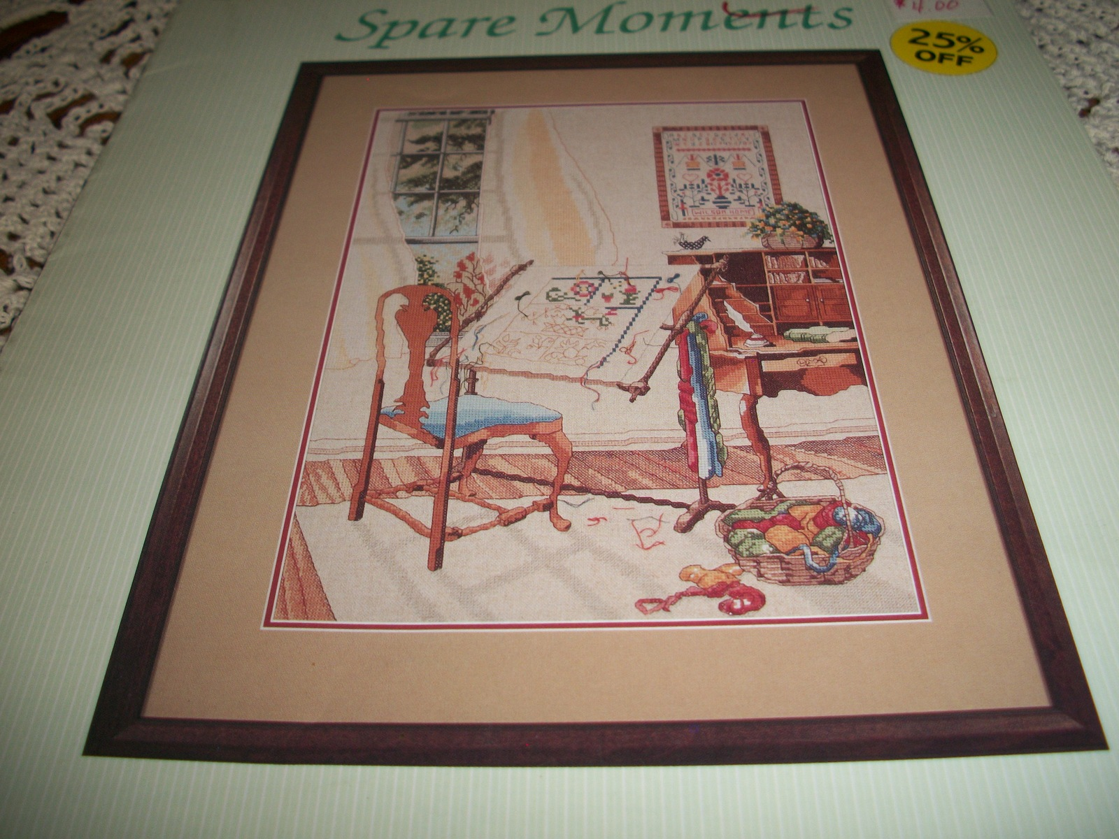 Primary image for Spare Moments Counted Cross Stitch Chart