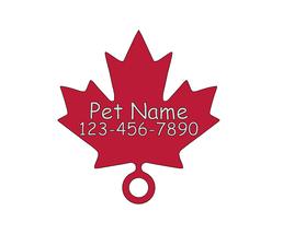 Maple/Quiet Noiseless Silent cat dog tag Plasti... - $8.99 - $9.99