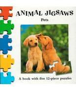 """Pets"" Animal Jigsaws Book - $5.00"