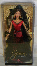 NRFB Spain Barbie Dolls of the World 2008 Pink Label Mattel - $79.99