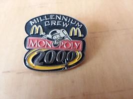 McDonald's Monopoly Millennium Crew 2000 Lapel Crew Employee Pin Advertising - $7.42