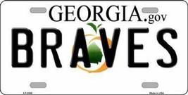 Peach Tree State Georgia Braves License Plate S... - $19.33